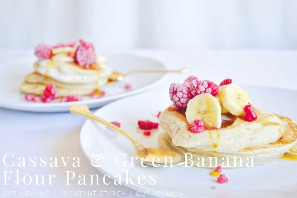 banana flour pancakes