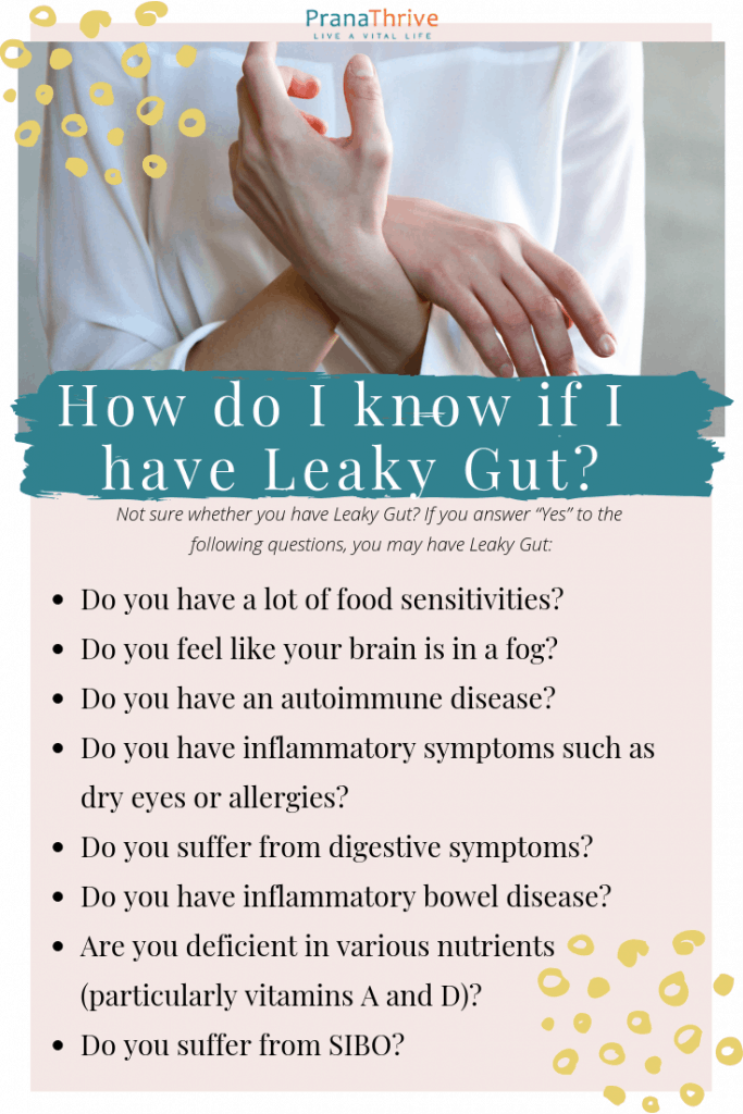 Do You Have Leaky Gut? (Plus warning signs to look for)