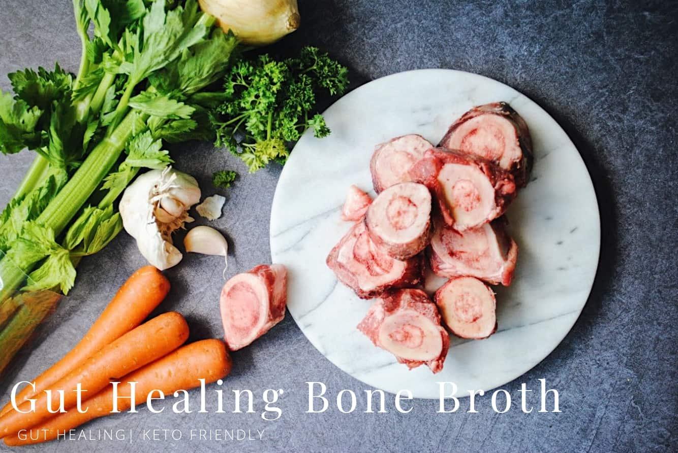Gut Healing Bone Broth | pranathrive.com #guthealth