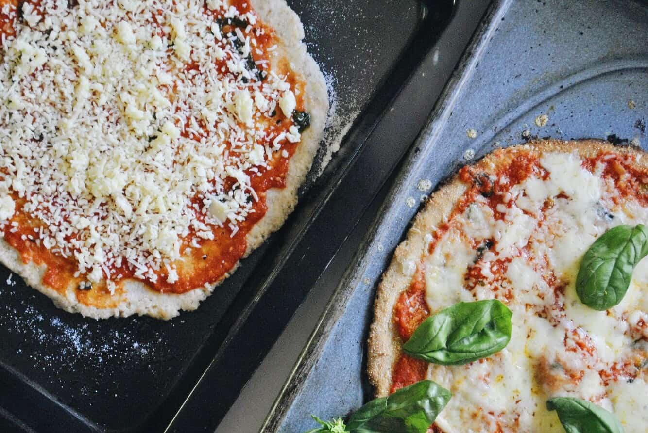 Cassava Flour Pizza Base