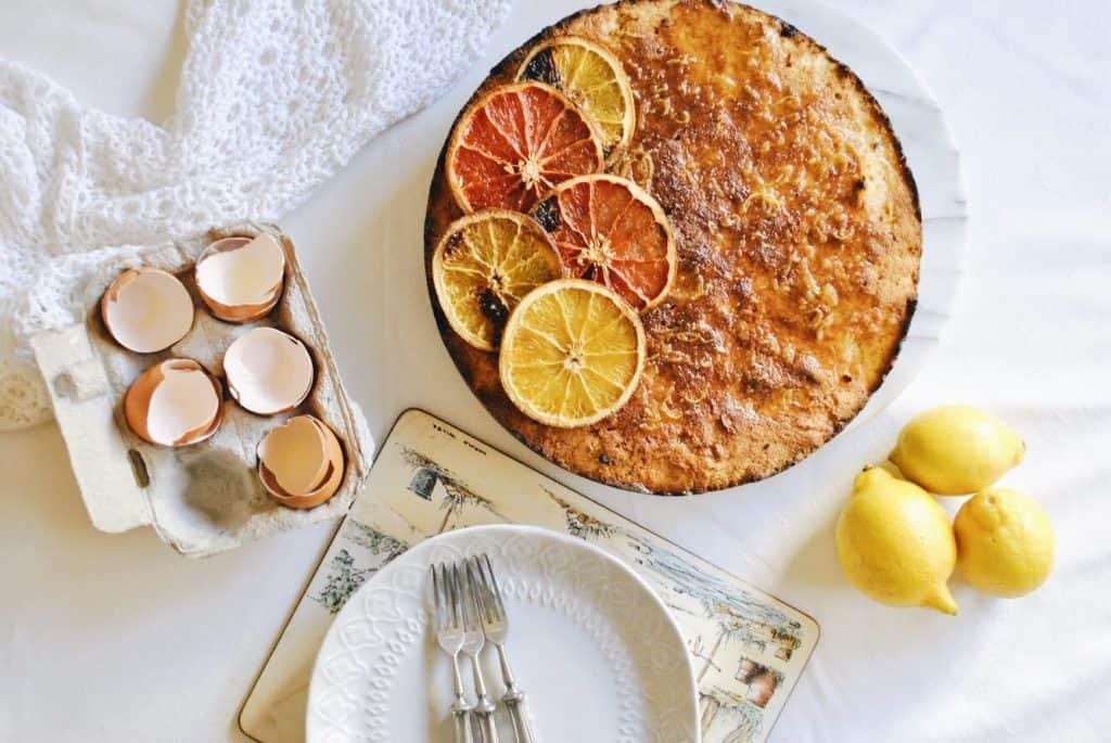 Persian Orange Cake