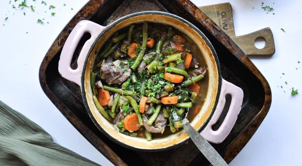 Hearty Lamb Stew | pranathrive.com #gaps #aip