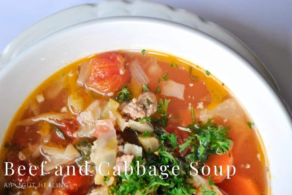 AIP Beef and Cabbage Soup