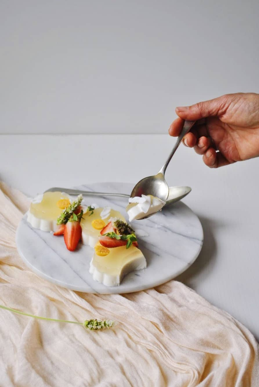 Coconut Milk Pannacott