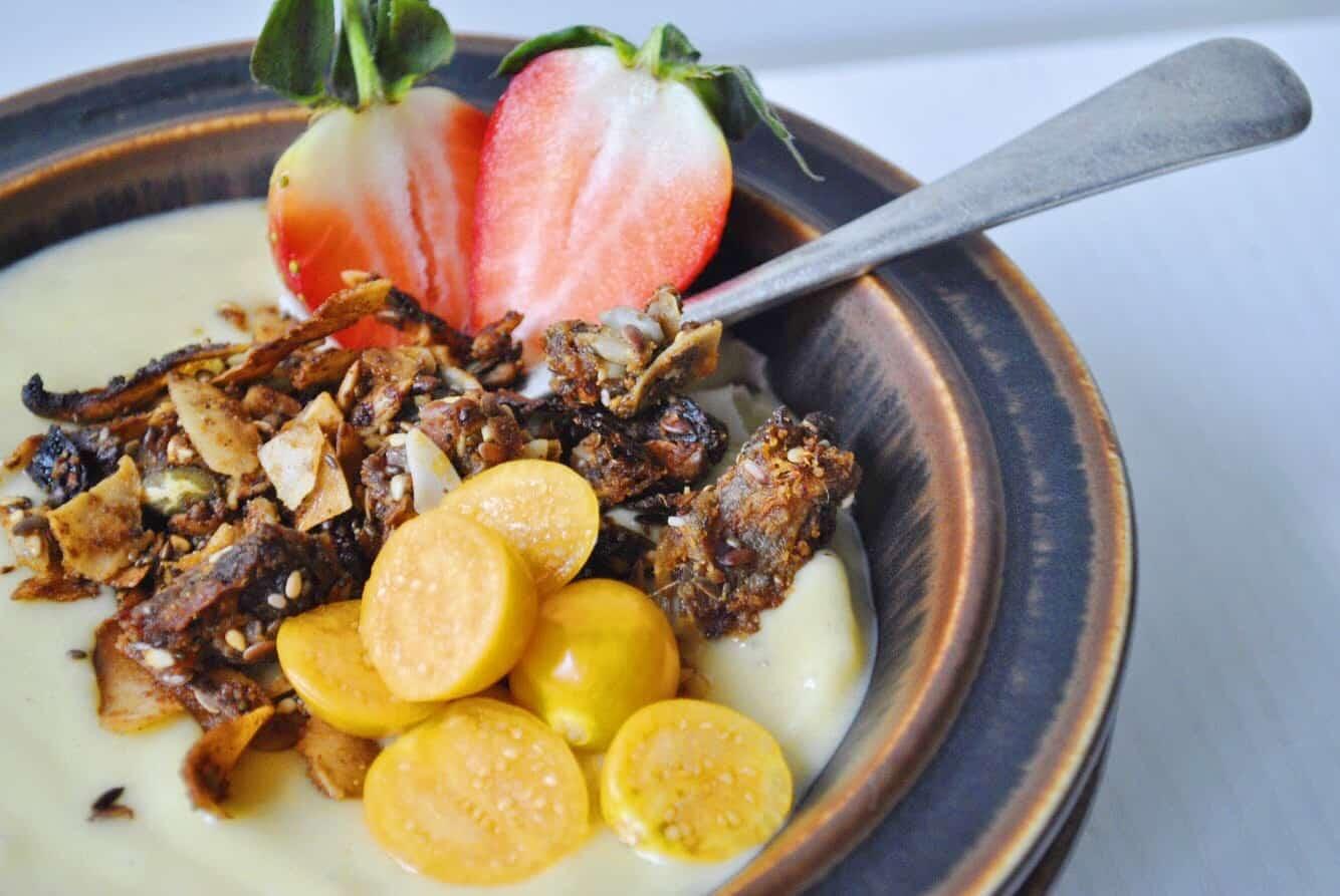 Coconut & Chia Seed Granola (Grain & Gluten Free)