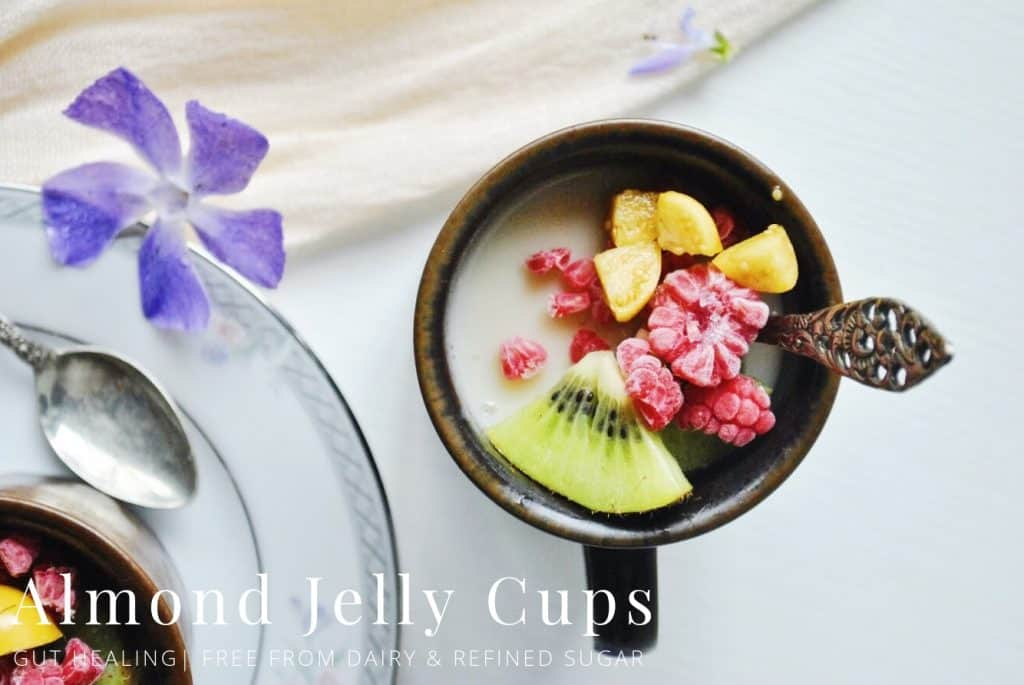 Almond Jelly Cups
