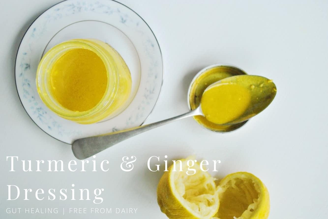 tumeric ginger anti-inflammatory dressing