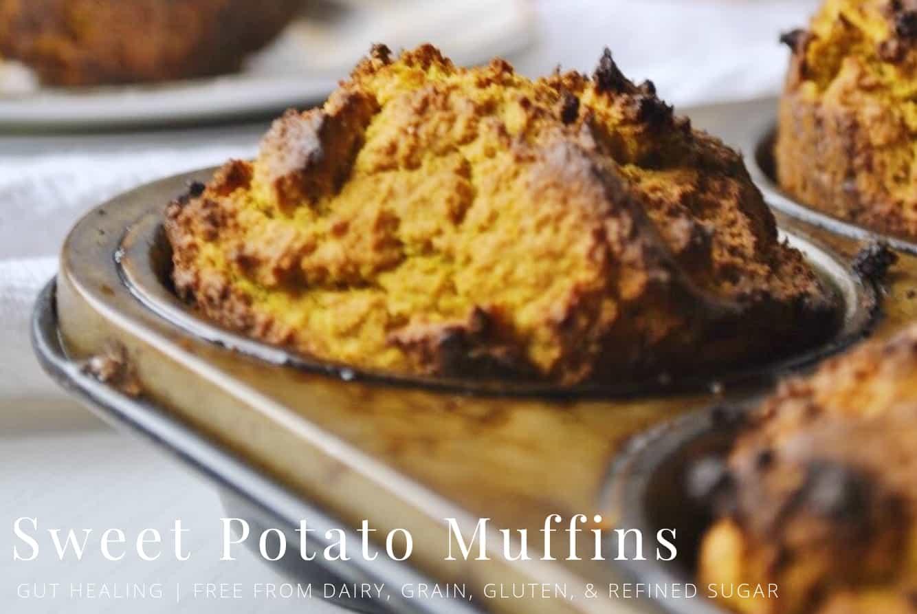 gluten free sweet potato muffins