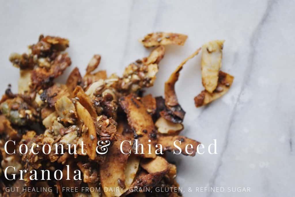 Coconut & Chia Seed Granola
