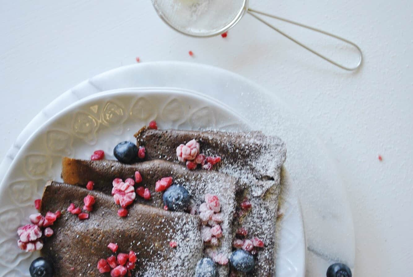 Gluten Free Chocolate Crepes
