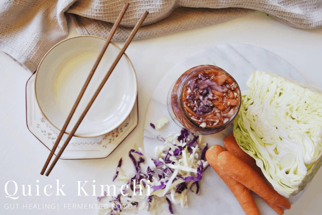 Easy Rainbow Kimchi