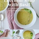 Zucchini Soup with Basil | pranathrive.com