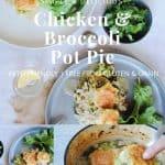Chicken & Broccoli Pot Pie