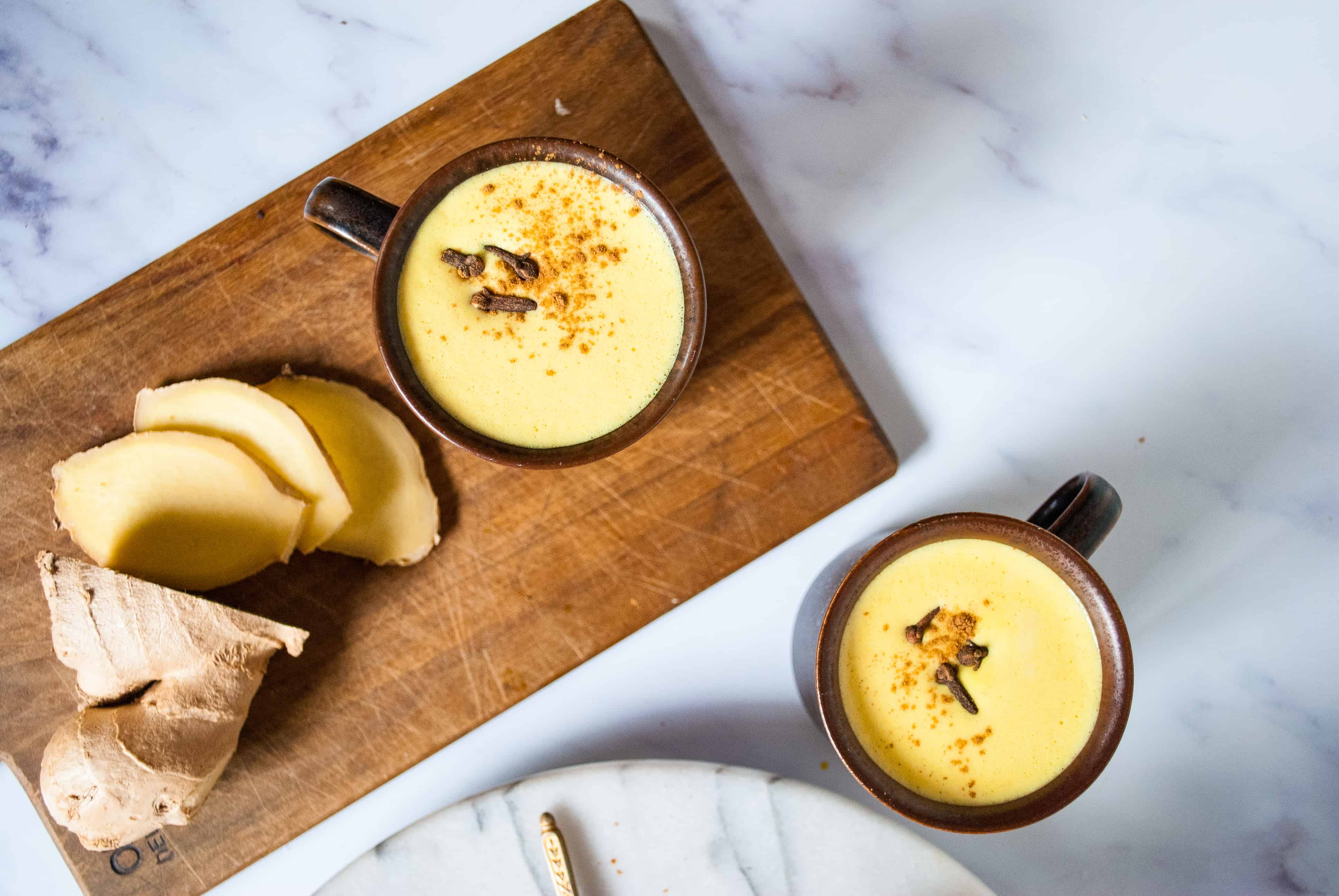 Turmeric & Ginger Latte