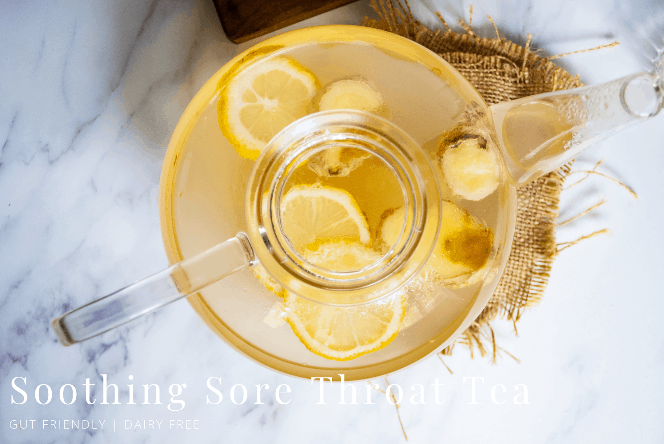 Soothing Sore Throat Tea