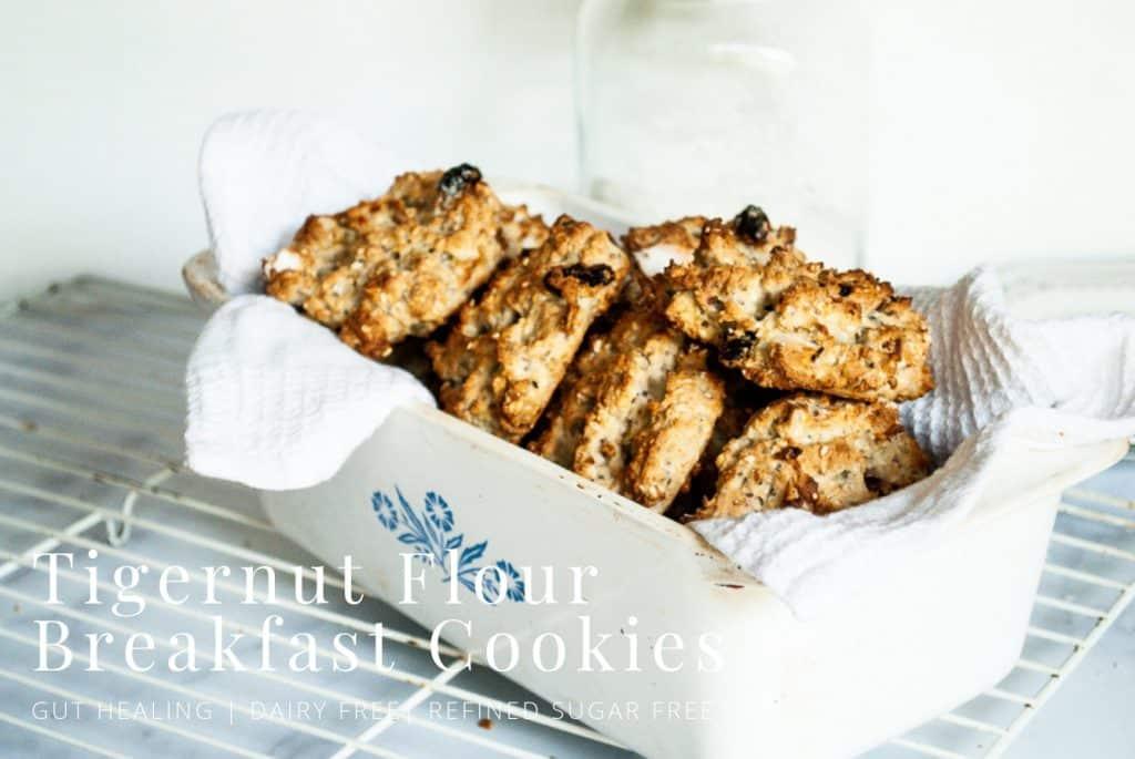 Tigernut Flour Breakfast Cookies