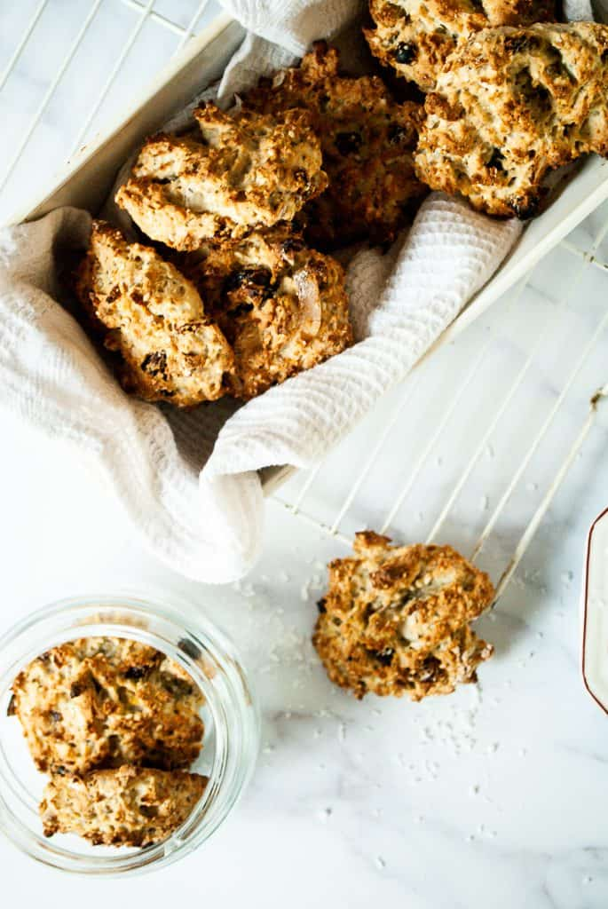 Tigernut Flour Breakfast Cookies