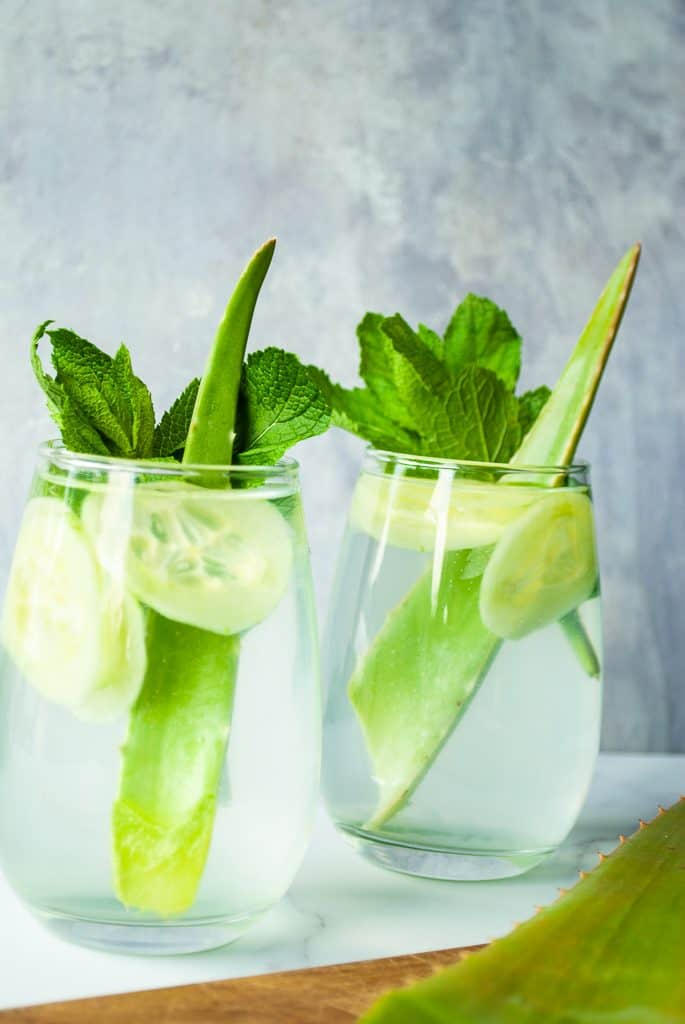 Cooling Aloe & Cucumber Juice