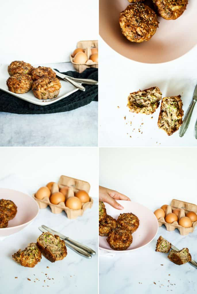 Tiger nut zucchini muffins