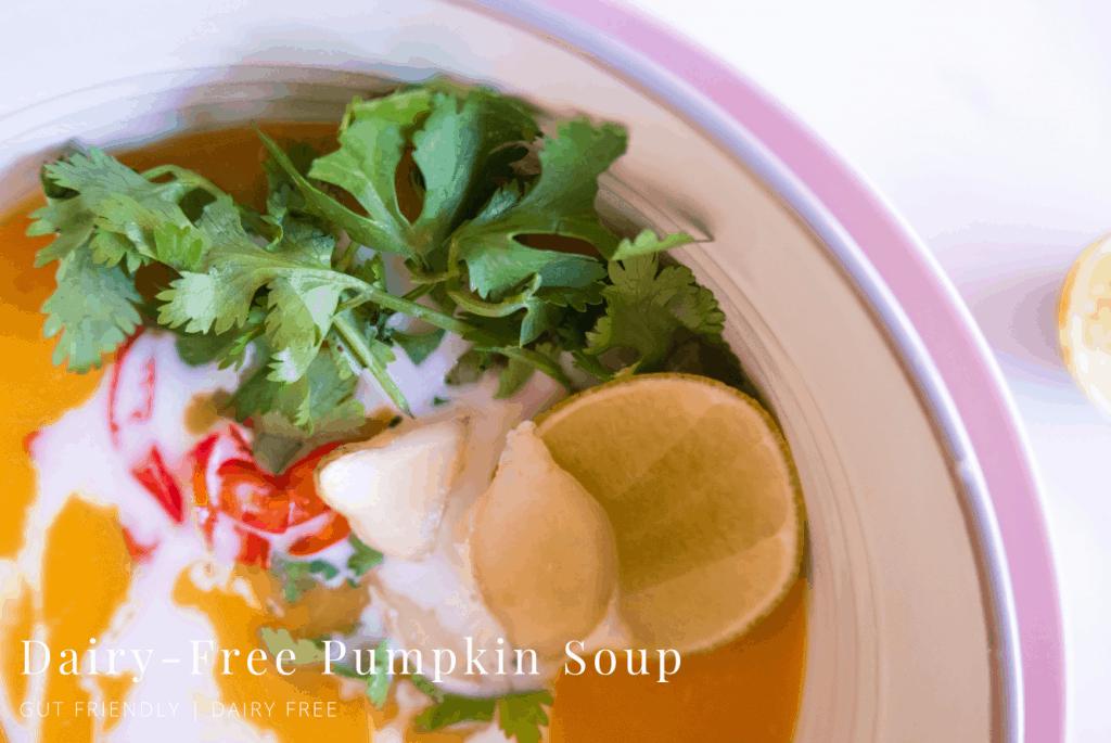 Dairy Free Pumpkin Soup
