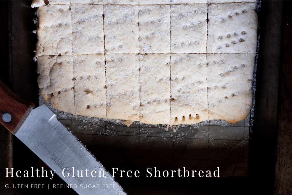 Healthy Gluten Free Shortbread