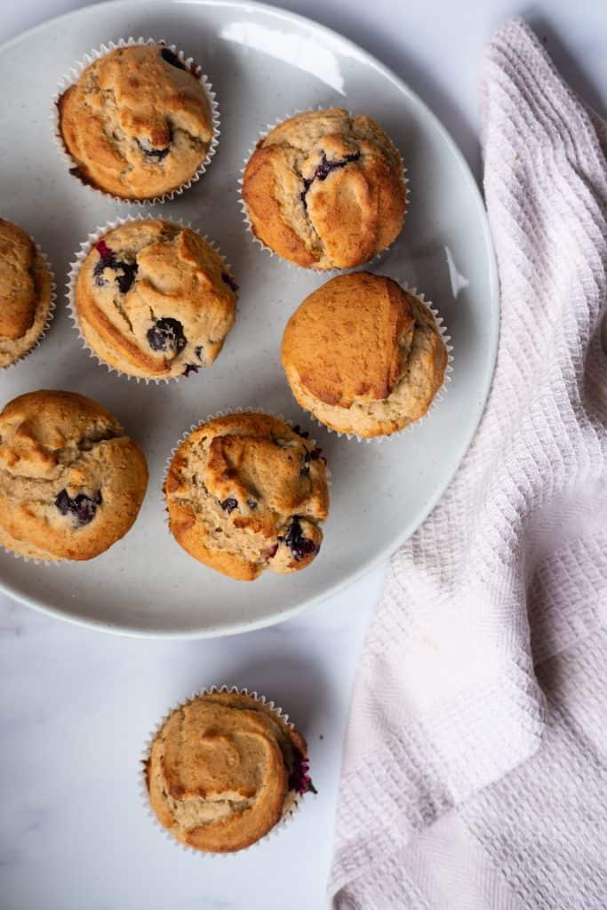 Low FODMAP Blueberry Muffins (Gluten-Free​)