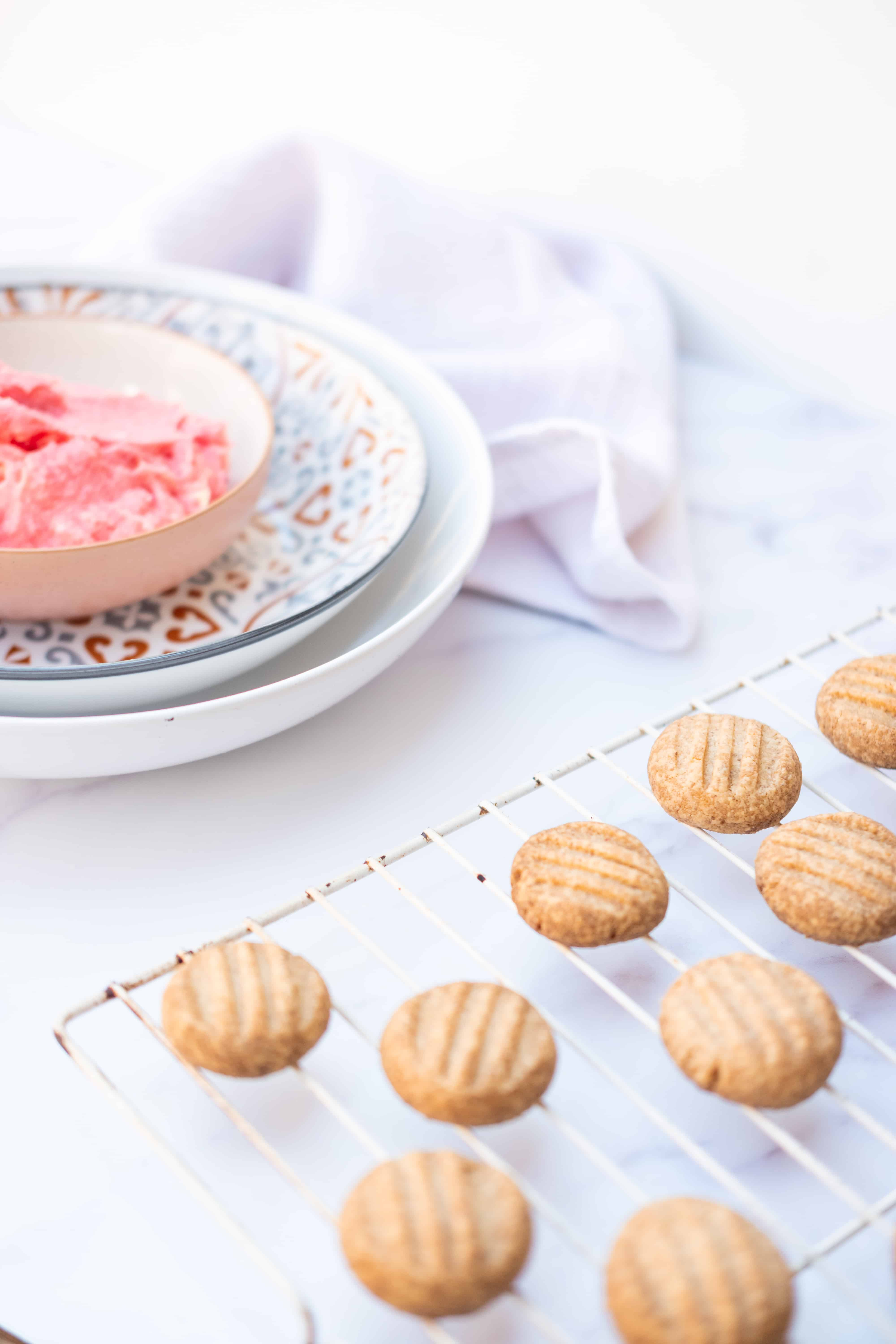 Gluten-Free​ Melting Moments with Raspberry Filling