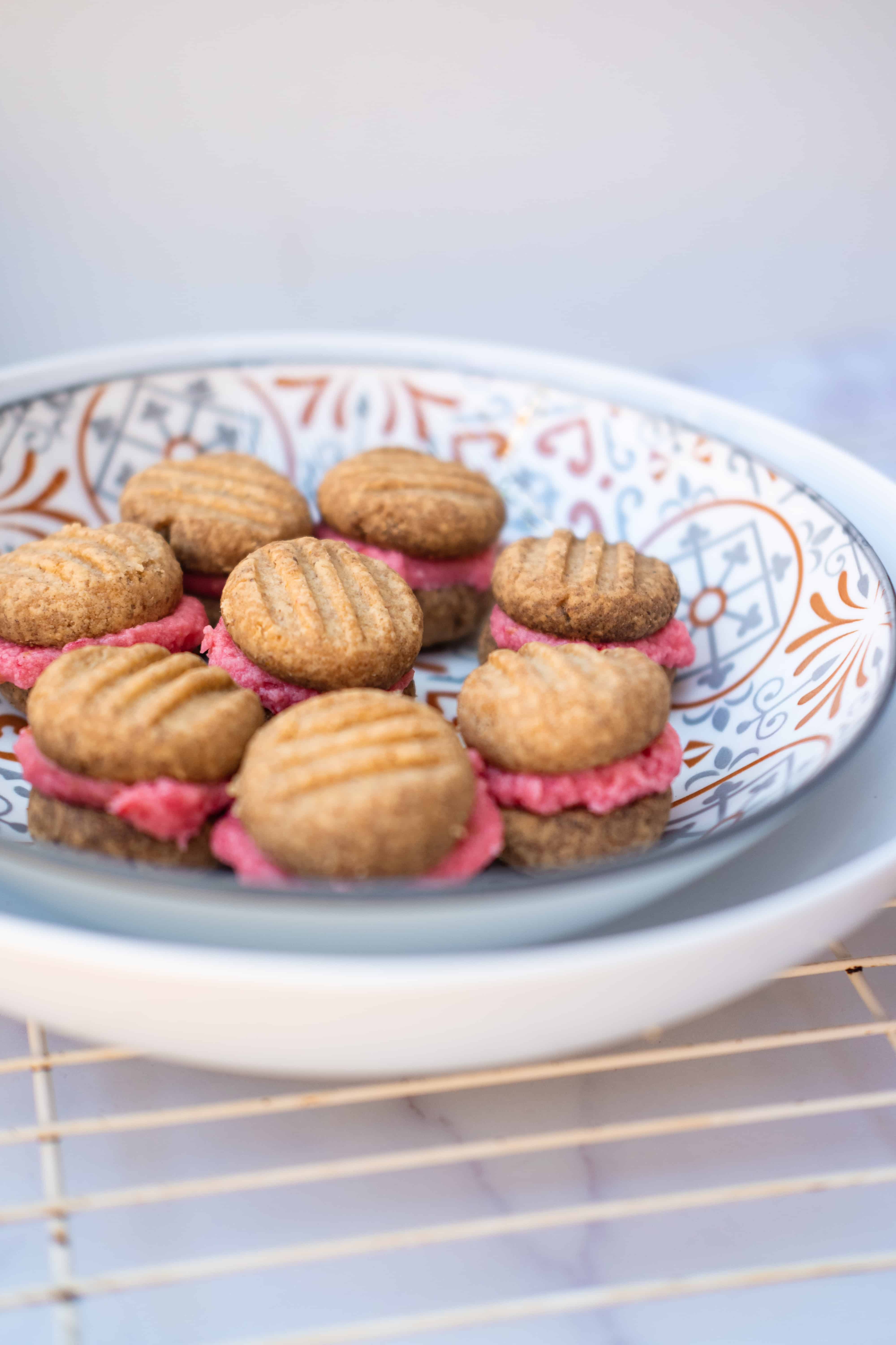 Gluten-Free Melting Moments with Raspberry Filling