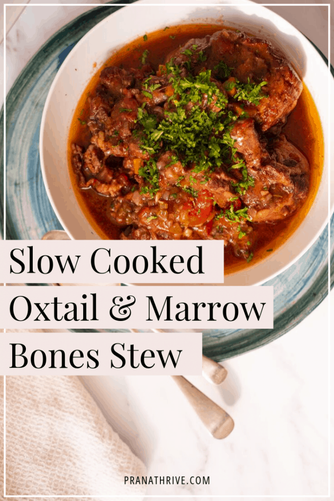 Slow-Cooked Oxtail with Marrow Bones
